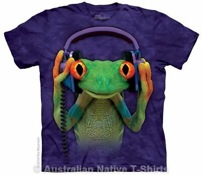 DJ Peace Adults Frog T-Shirt - Frogs & Amphibians by The Mountain T-Shirts