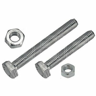 Wot-Nots Set Screw & Nut - 7/16in. x 1 1/2in. UNF (PWN430) - Pack of 2