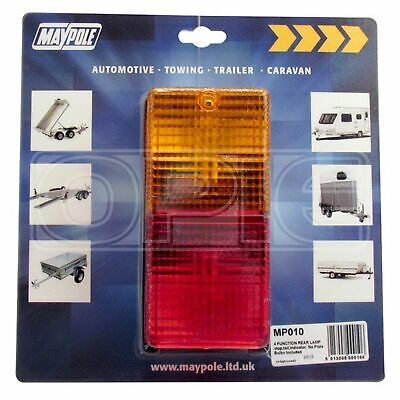 Maypole Rear Lamp - Rectangle - Combination (010)