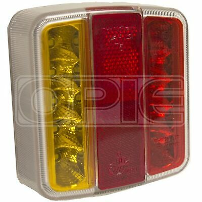 Maypole LED Lamp - Rear Square - Combination (MP8893)