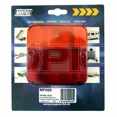 Maypole Rear Lamp - Square - Lens Only - 003 (005)