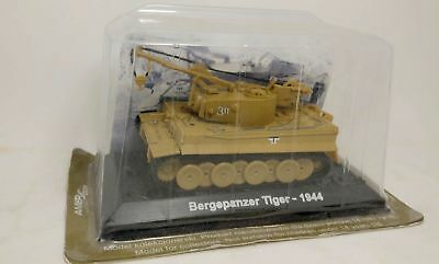 1/72 Diecast Bergepanzer Tiger Tank recovery painted Assembled