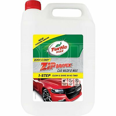 Turtle Wax Zip Wax - Wash and Wax (52824) - 5 Litres