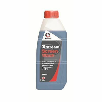 Comma Xstream Screenwash 1 LITRE Ultra Concentrated Severe Winter -65°C 1L