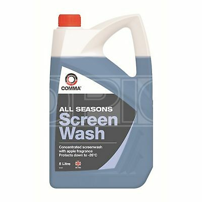 Comma All Seasons Screenwash - High quality extra concentrated -26°C 5 Litres