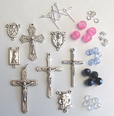 Rosary Making Kit With Glass Beads