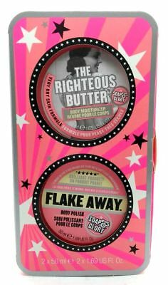 Soap & Glory Get A Smooth On Scrub & Butter Duo CHRISTMAS GIFT New