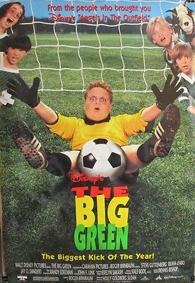 THE BIG GREEN 1995 ORIGINAL 27x40 MOVIE POSTER Rolled Double Sided (H)
