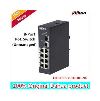 Dahua 8-Port PoE Switch (Unmanaged) IEEE802.3af, IEEE802.3at  PFS3110-8P-96 MAC