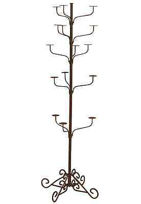 Hat Display Rack Boutique 5-Tier Millinery Floor Stand Custom Penny Bronze