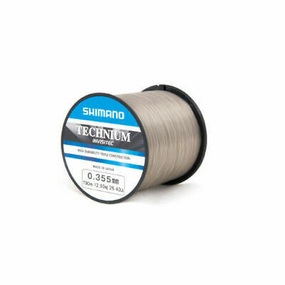 Shimano Technium Invisitec Mono Mainline - Carp Pike Barbel Coarse Fishing Line