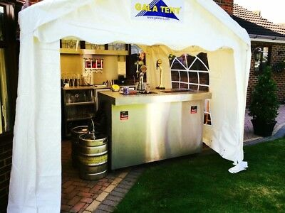Mobile Bar, Business for sale, includes, Luton van, stock, supplies, gala tent,