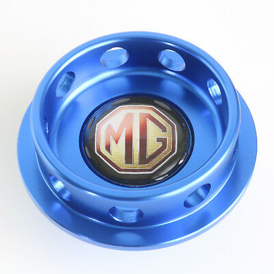 MG 6 1.8 Oil Filler Cap Blue Anodised Billet Aluminium MG6 SAIC Kavachi Engine