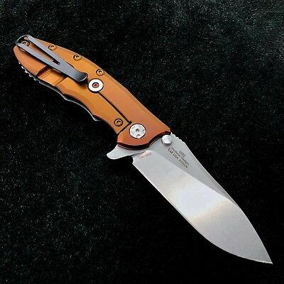 Zero Tolerance 0562 Flipper Rick Hinderer Folder  ZT0562 w/ Dirty Bronze Ano