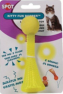 Spot Flash Motion Light Kitty Fun Bopper Cat Toy Colors Vary. Free Ship In Usa
