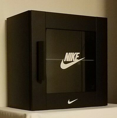 Black Nike Air Max Display Case LED sunglasses watches and other gear 11 12 4