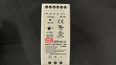 Mean Well MDR-60-12 AC to DC DIN-Rail Power Supply