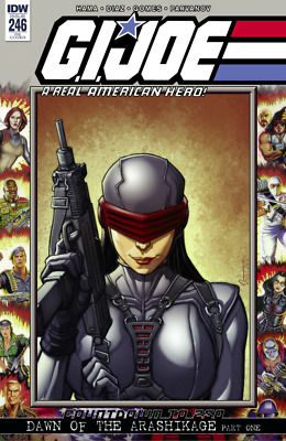 Idw Gi Joe A Real American Hero #246 Chad Hardin Variant Cover A 12/29
