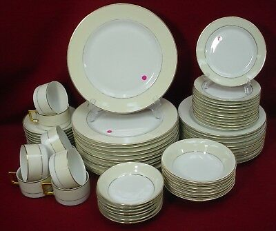 HEINRICH china QUEEN pattern 60+ SET SERVICE for 8+/-