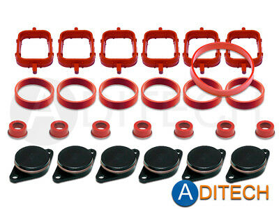 6 x 32 33 mm Swirl Flap Backup Ring Removal Blanks Manifold Gaskets for BMW M57