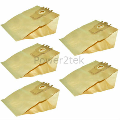 5 x G H Type Dust Bags for Miele S5520 Vacuum Cleaner