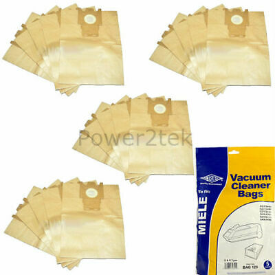 20 x Type G & H Vacuum Cleaner Bags for Miele S5520 Hoover UK