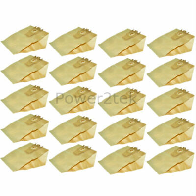 20 x G H Type Dust Bags for Miele S5520 Vacuum Cleaner