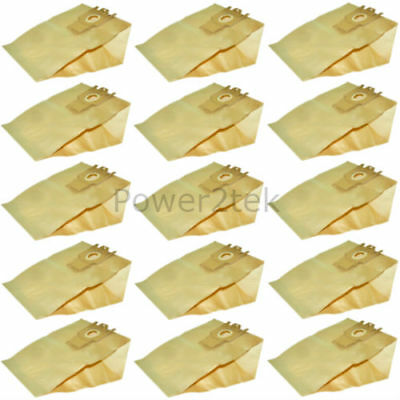 15 x G H Type Dust Bags for Miele S5520 Vacuum Cleaner