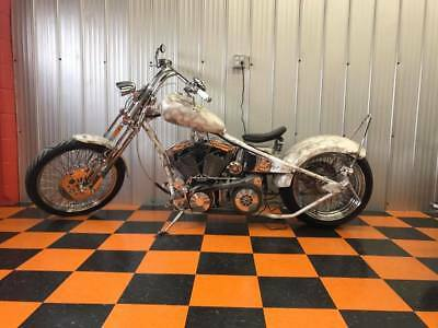 Custom Built Motorcycles: Chopper 2008 Custom Chopper Rigid