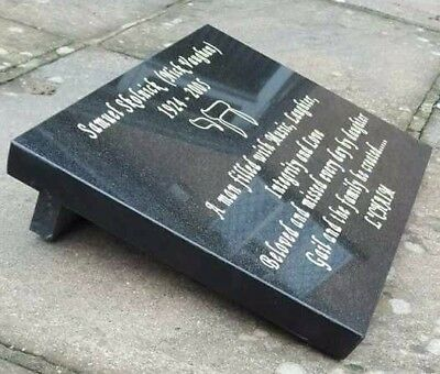 Grave Memorial Plaque Grave Stone Headstone Engraved High Quality