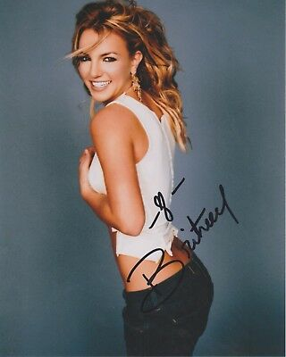 Britney Spears authentic signed autographed 8x10 photograph holo COA