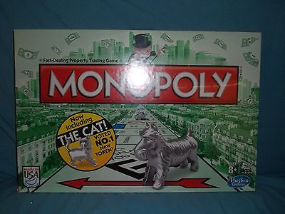 Monopoly (Now Including the Cat), Brand New and Sealed