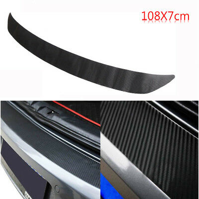 Carbon Fiber Rear Bumper Sticker Trim Protector For VW Golf MK6 GTI R20 108x7cm