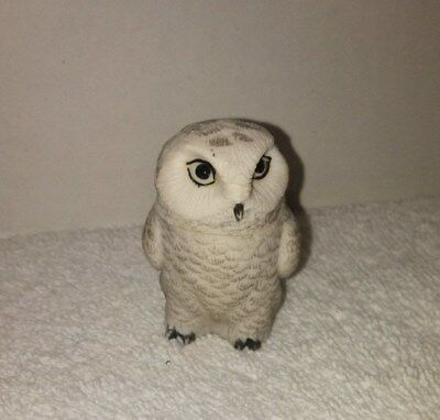 Snowy Owl Pot Bellys Collection by Harmony Ball Company  Hidden Compartment