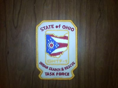 Ohtf-1 National Urban Search & Rescue Response System Patch, Ohio Task Force-1