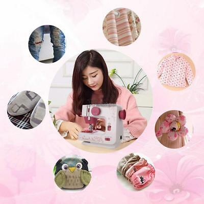 New Portable Mini Electric Handheld Sewing Machine Desktop Home Household Travel