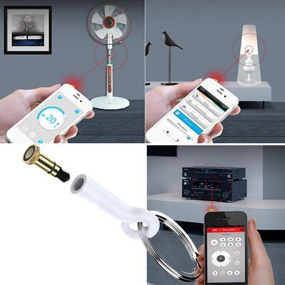 3.5mm Plug iPhone IR Infrared Wireless Remote Control For Home Appliances IL