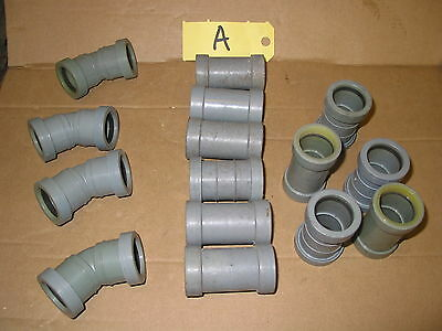 """32Mm Waste Pipe Fittings Mainly Bartol Push Fit Waste Pipe 1 1/4"""" Fittings  (A)"""