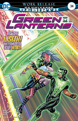 Green Lanterns #34 (2017) 1St Printing Bagged & Boarded Dc Universe Rebirth