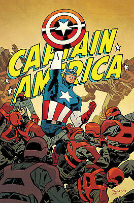 Captain America #695 (2017) 1St Printing Bagged & Boarded Marvel Legacy Tie-In