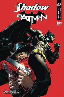 The Shadow Batman #2 (Of 6) (2017) 1St Printing Peterson Variant Cover B