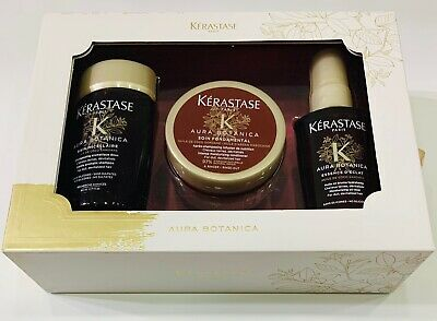Le Coffre: Bain Micellaire 80ML + Soin FondamentaL 75ML + Essence 50ML Kerastase