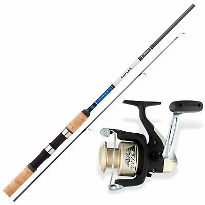 Hecht Angelset Combo - Shimano Angelrute & Angelrolle Set - Angeln NO.1