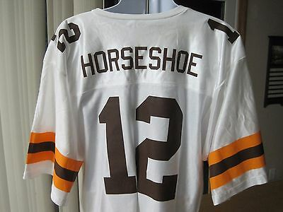 Cleveland Horseshoe Casino Collectible Browns Football Promotional Jersey NWOT