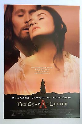 The Scarlet Letter 1995 Original Movie Poster 27x40 Rolled, Double-Sided