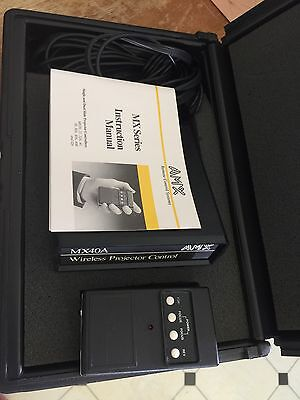 AMX Wireless Projector Control MX40A with Hardshell Case and Remote