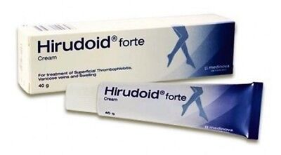 40g Hirudoid Forte Cream For Scar Varicose Vein Keloid Bruises Free Ship Track