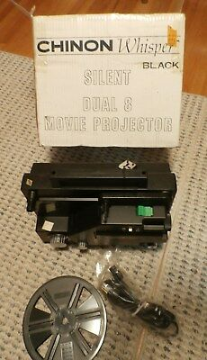 Chinon Whisper Model 727  Dual 8 Movie Projector