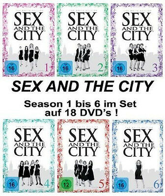 Sex and the City White Edition DVD Box komplette Serie, neu!!