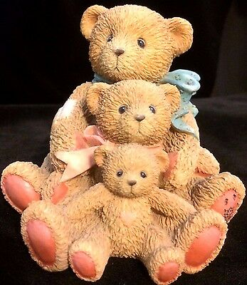 Cherished Teddies Theodore, Samantha and Tyler #950505 - Friends Come In Al...